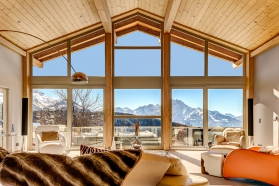 Chalet Le Renne D'Or - Swiss luxury contemporary chalet for sale