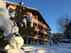Central Villars 2 bed duplex apartment